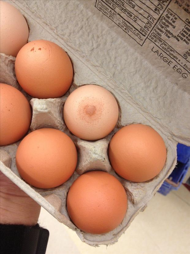 egg looks like a nipple