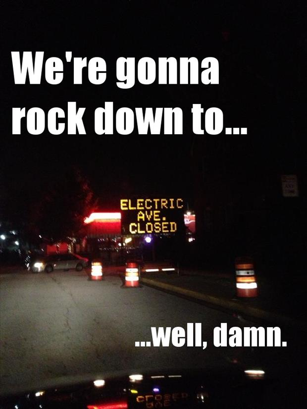 electric ave rock down