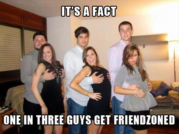friendzone one in three guys