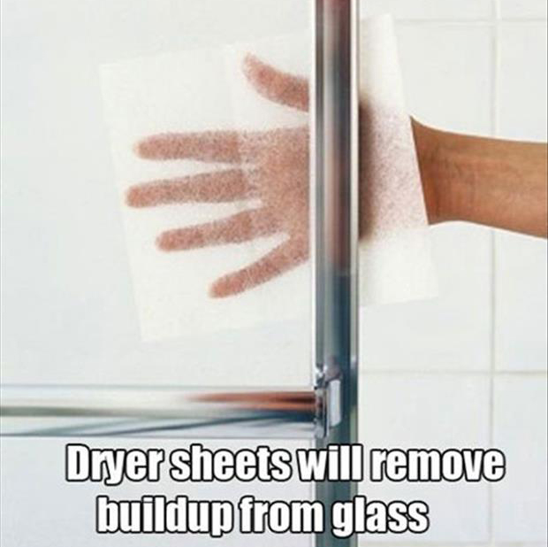 fun uses for dryer sheets