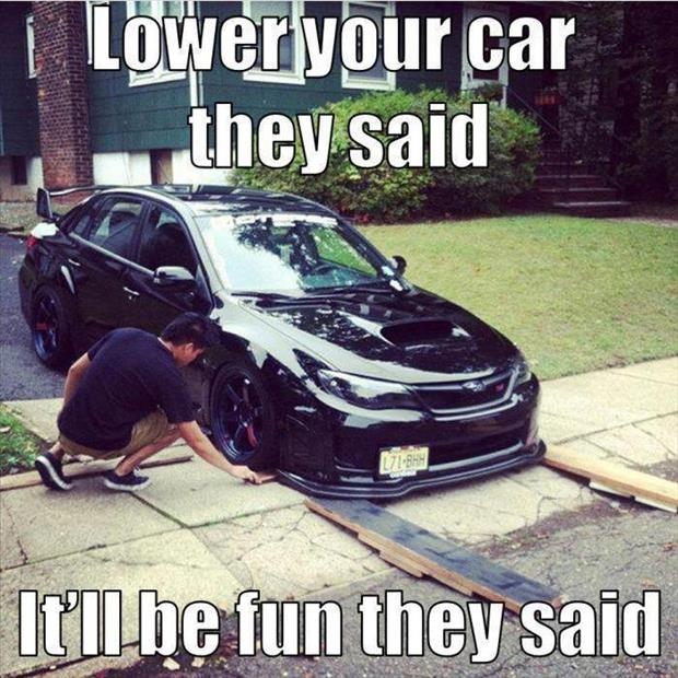 funny lower cars