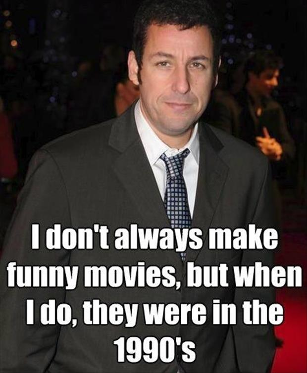 funny movies by adam sandler