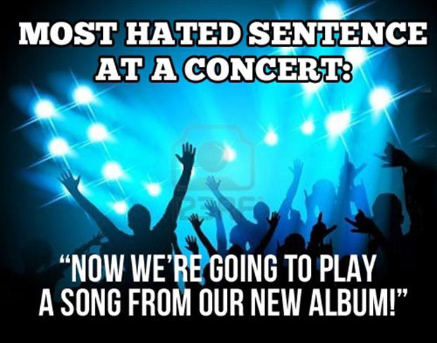 funny pictures concerts