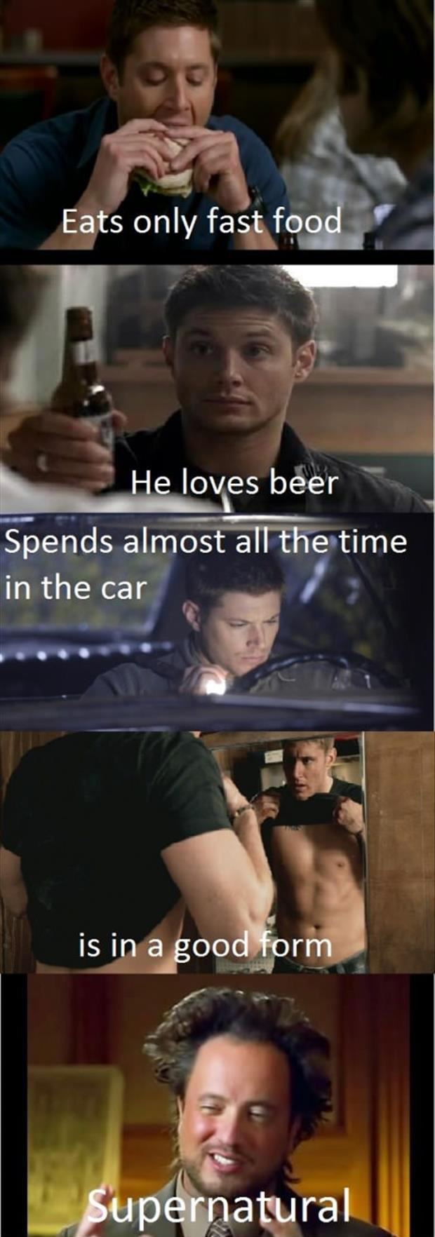 funny pictures supernatural
