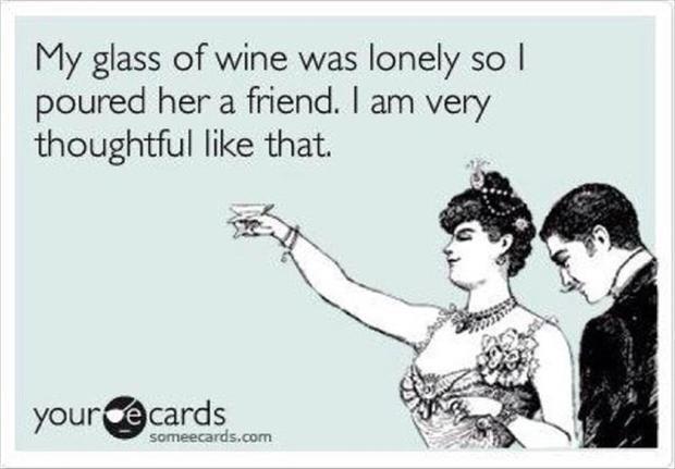 glass of wine quotes
