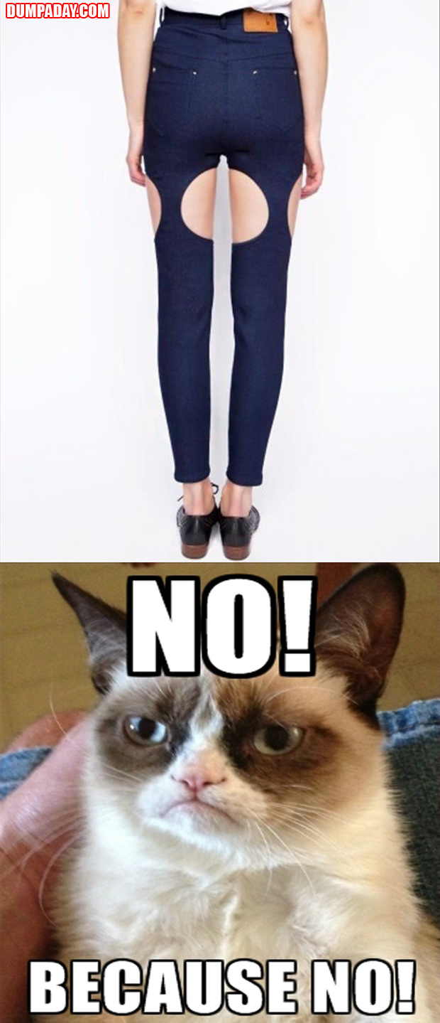 grumpy cat fashion advice, no