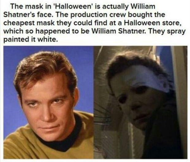 halloween mask facts