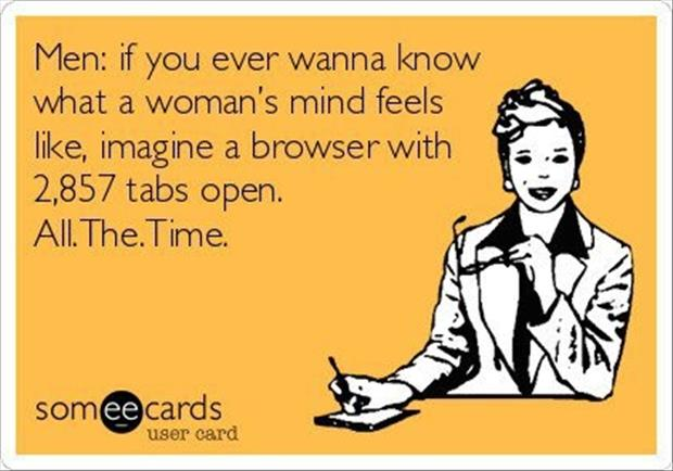 know a woman's mind