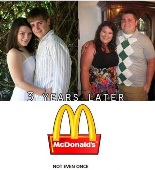 mcdonalds not even once