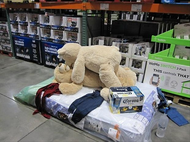 meanwhile in costco