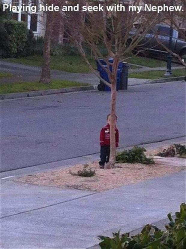 playing hide and seek funny pictures