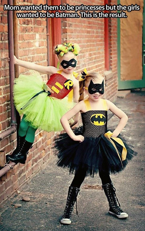 princess batman and robin