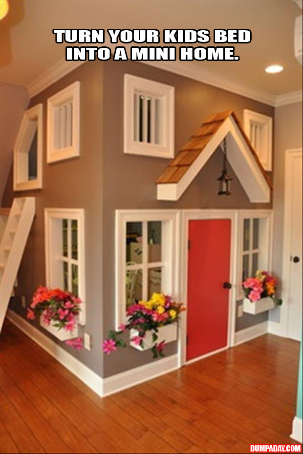 real house for your kids bedroom