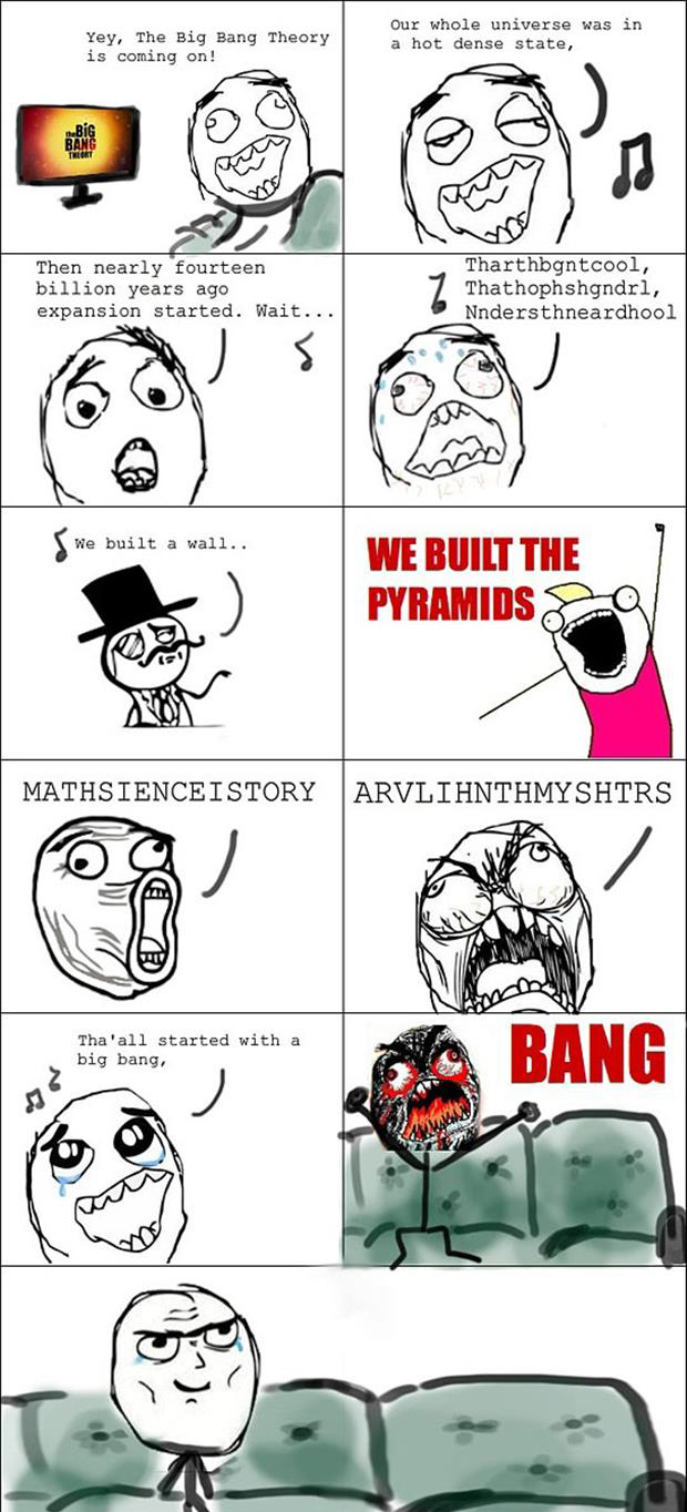 singing the big bang theory song