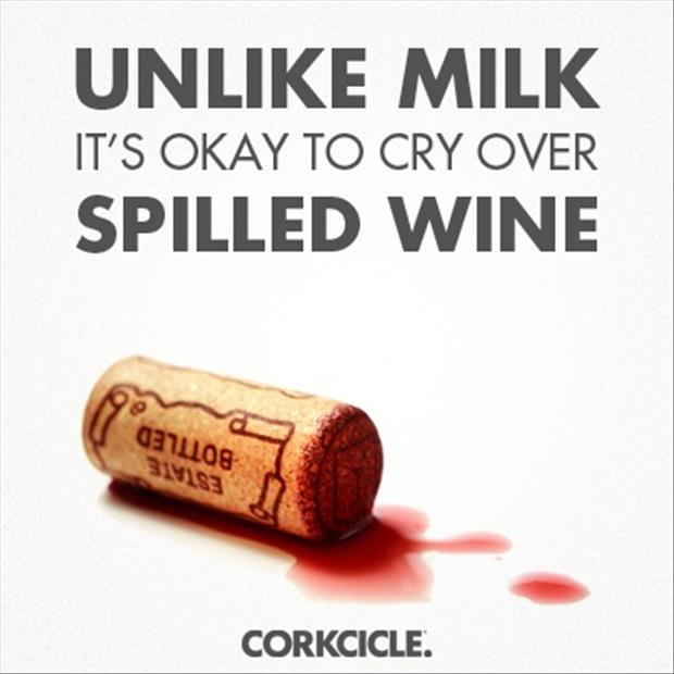spill your wine funny quotes