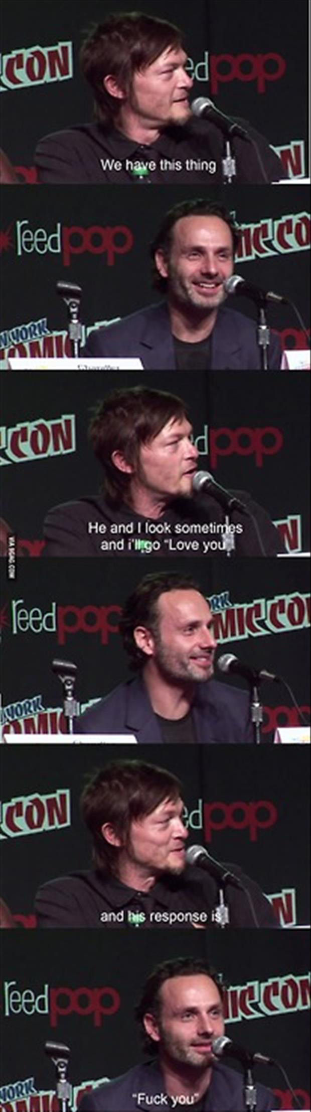 the walking dead I love you