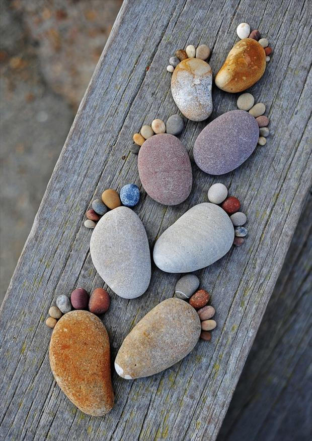 using rocks in yur garden fun ideas