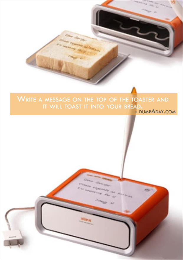 Borderline Genius Ideas- Custom Message Toaster