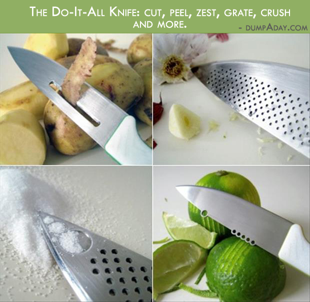 Borderline Genius Ideas- the do it all knife