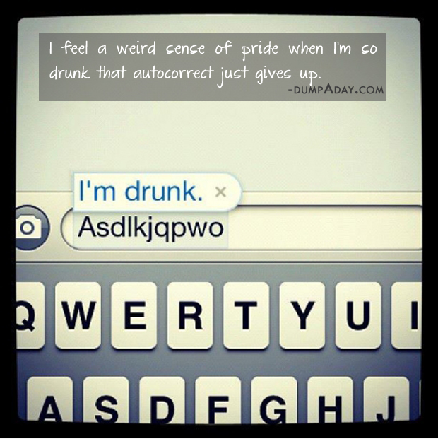 Drunk Autocorrect. Favorite exercise. Feeling Racist quote. Funny Workout Quote