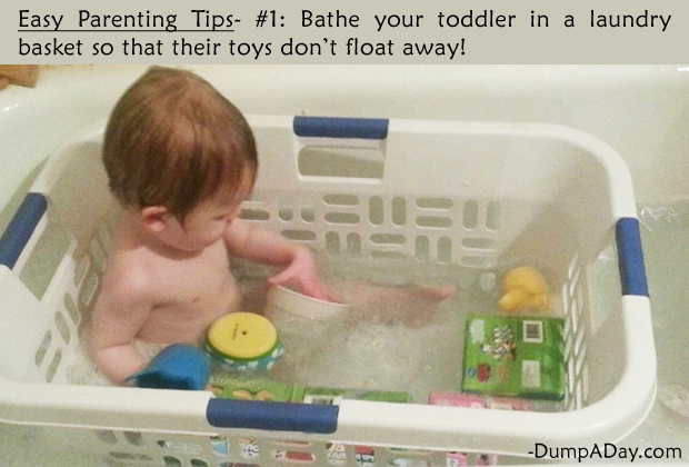 Easy Parenting Tips 1- Bathing