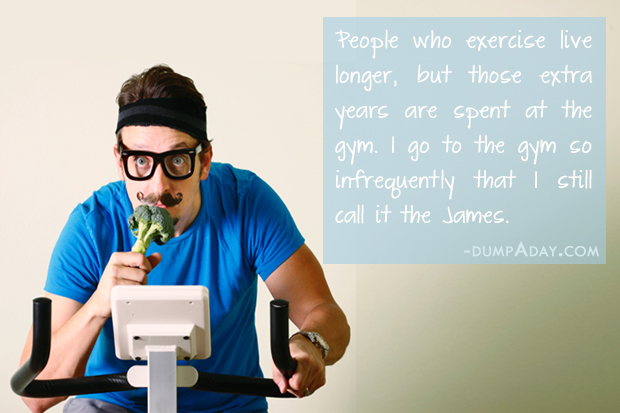 Funny Workout Quote