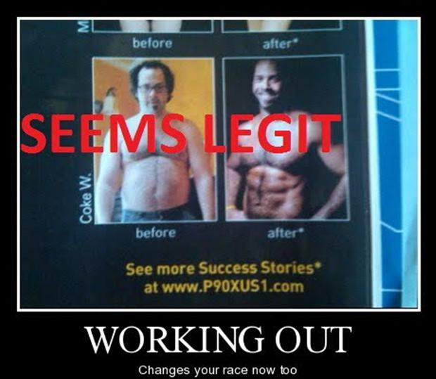 Funny Fitness Pictures Seems Legit
