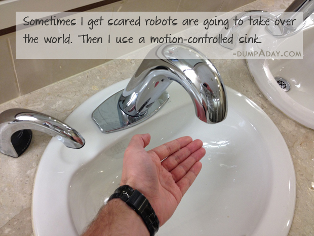 Funny robots taking over world quote