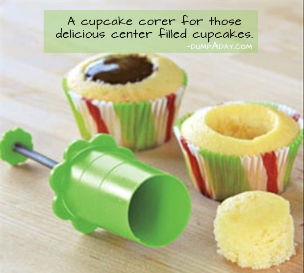 Genius Ideas- Cupcake corer