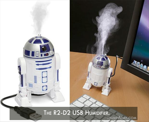 Genius Ideas- R2-D2 USB Humidifier