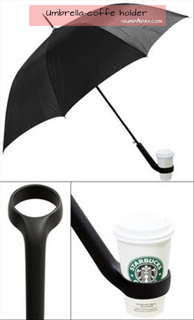 Genius Ideas- coffee holder