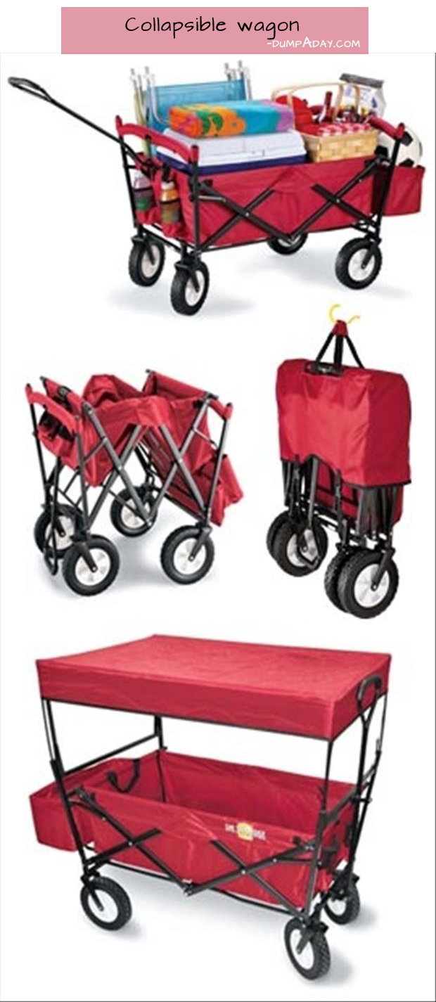 Genius Ideas- collapsible wagon