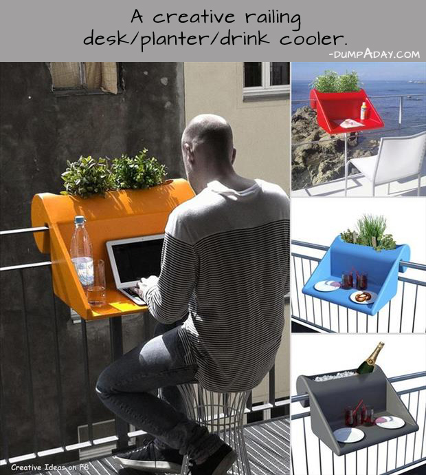 Genius Ideas- desk planter
