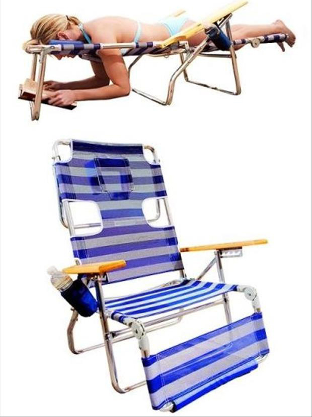 Genius Ideas- fun patio chairs
