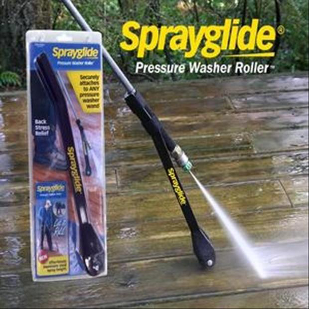 Genius Ideas - sprayglide for pressure washers