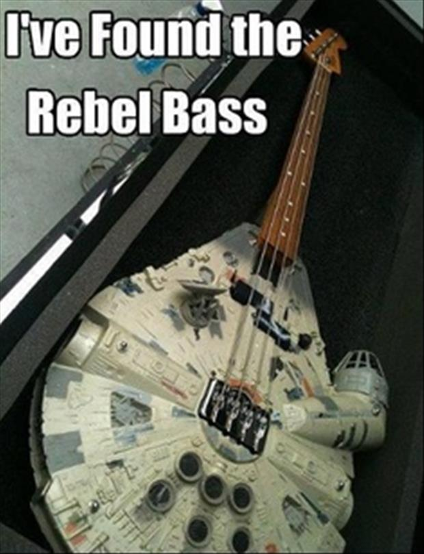 I found the rebel bass