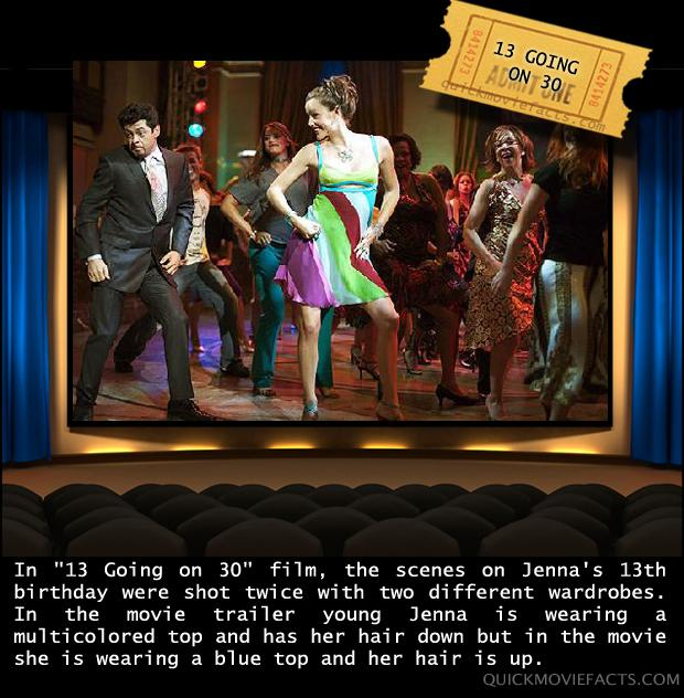 Movie Facts- 13 Going On 30