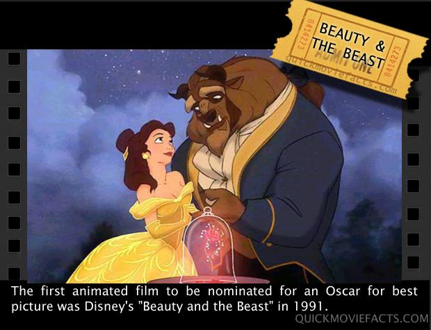 Movie Facts- Beauty & The Beast