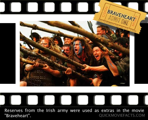 Movie Facts- Braveheart