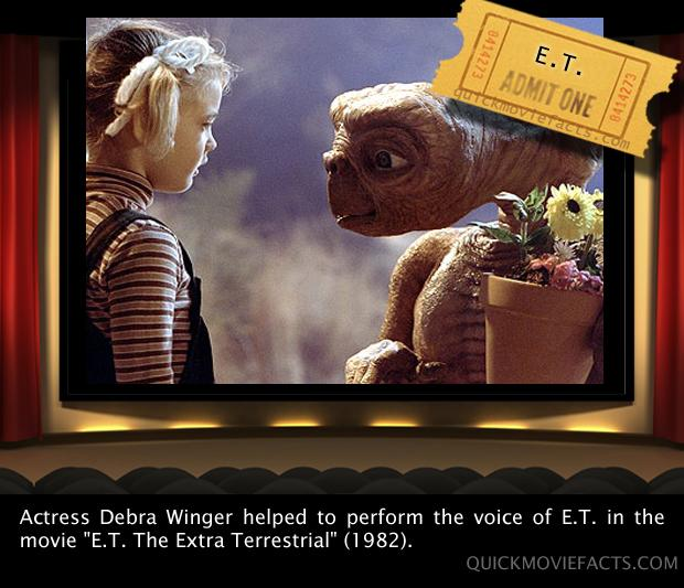 Movie Facts- ET Fact