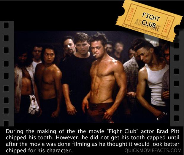 Movie Facts- Fight Club