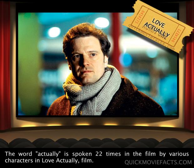 Movie Facts- Love Actually