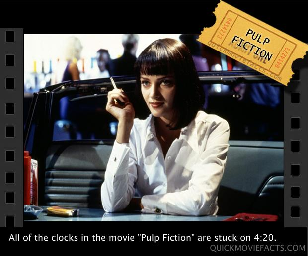 Movie Facts- Pulp Fiction