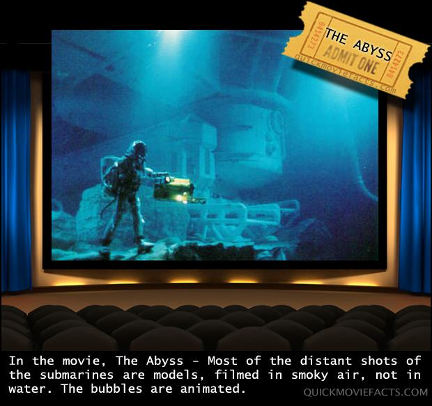 Movie Facts- The Abyss
