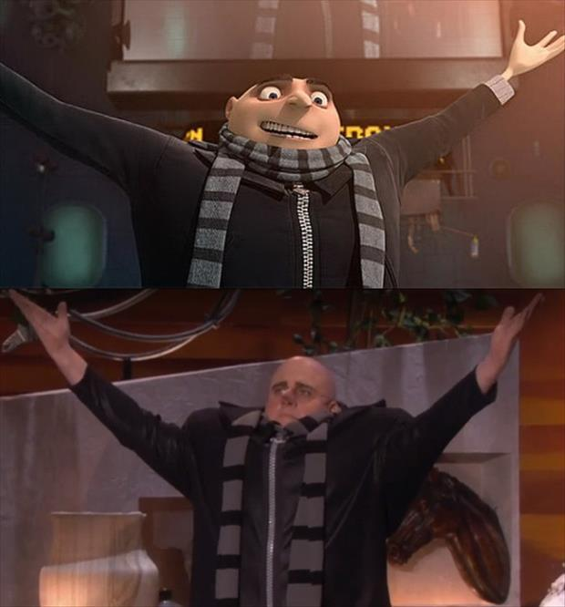 Steve Carell Went On Ellen Dressed As His Character From Despicable Me
