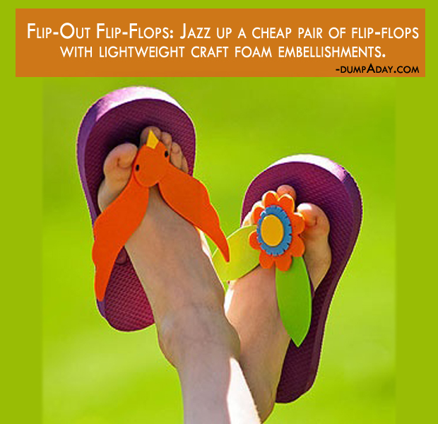 Summer fun Ideas - Flip-Out Flip-Flops