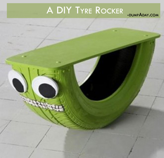 Summer fun Ideas- Tyre rocker