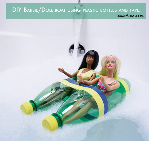 Summer fun Ideas- barbie boat