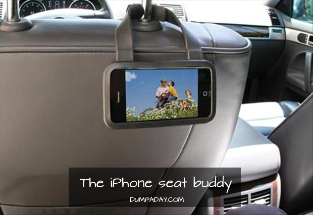 The iPhone Seat Buddy