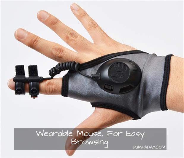 Wearable Mouse Now Available For Ultra Casual Browsing